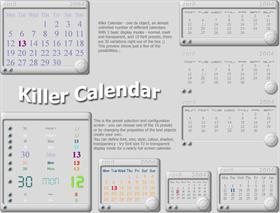 Killer calendar