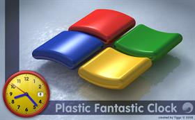 Plastic Fantastic Clock