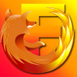 Firefox F icon