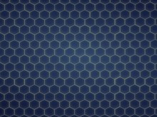 blue honeycomb pattern