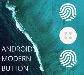 Android Modern Button