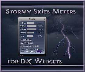 Stormy Skies Meters
