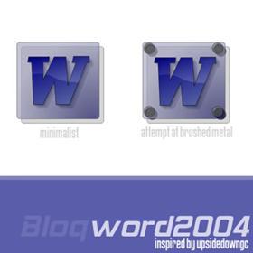 Word 2004 - bloq