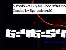 NintendoNet Digital Clock Aftershock