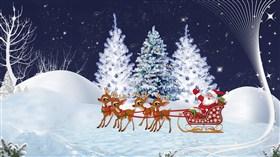 Christmas Santa Scene 2013 LV