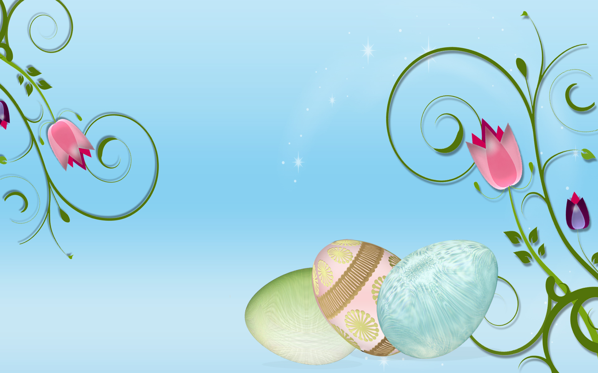free wallpaper screen savers: Easter Screensavers Wallpaper