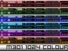 M301 1024 Version Colour Pack