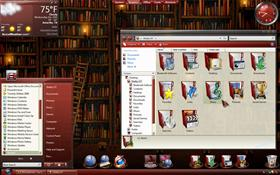 Gloss Burgandy ObjectDesktop Subscriber Theme