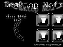 Desktop Noir Gloss Trash