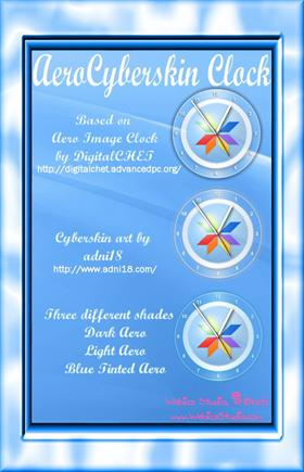 Aero Cyberskin Clock