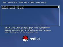Red Hat Linux: GRUB