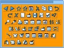 TwoHipDudes Toolbar Icons