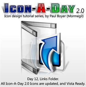Icon-A-Day 2.0, Day 12, Links Folder