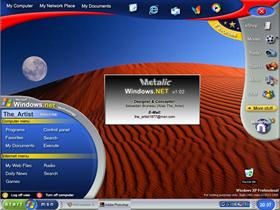 Windows.NET 1.02 DX2 Metalic Edition (1024 x 768)