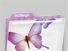 Plastic Folder: InDesign CS2