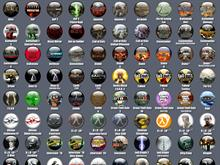 140 Game icons by Vyn3gaarr