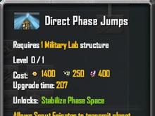 Direct Phase Jumps