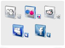 Free Social Icons Part A