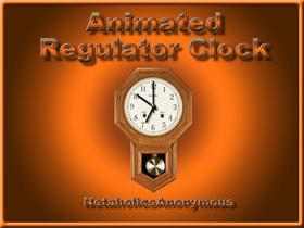 Animated Regulator Clock