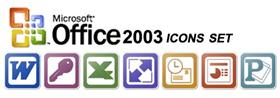 Microsoft Office 2003 Suite Icons