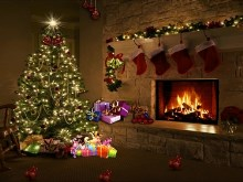 White_Christmas_Fireplace