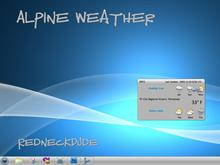 Alpine Weather Widget