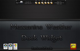 Mezzanine Weather Dock Widget