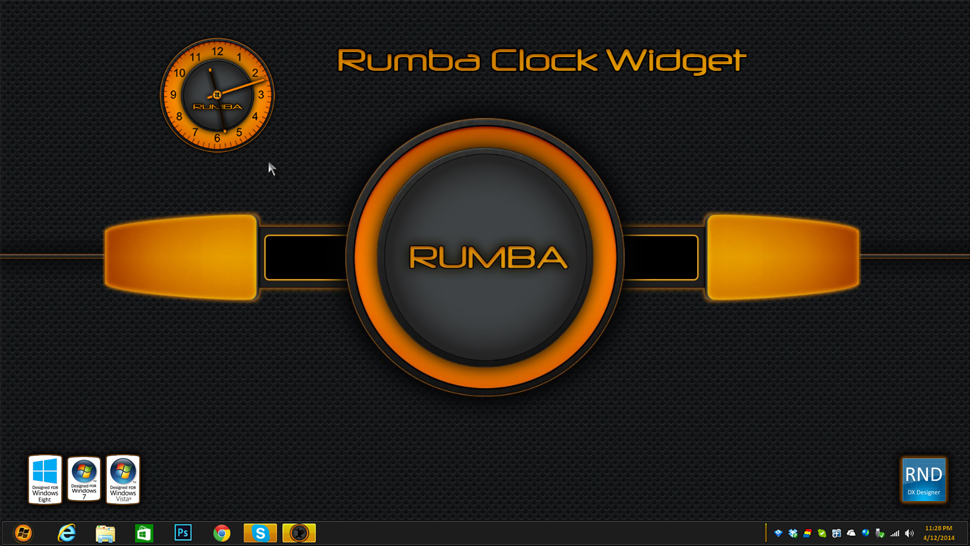 Rumba Clock Widget