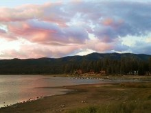 4K Big Bear Lake Sunset