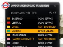 London Underground Live Travelnews