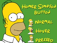Homer Simpson Button