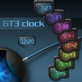 GT3 digital clock