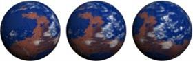 Mars Ocean Globe (Animated)