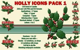 Holly Icons Pack 1