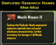 Simplified Research Names Mini-Mod (for Rebellion)