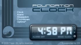 Foundation Clock
