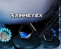 Hex Rainmeter Icon